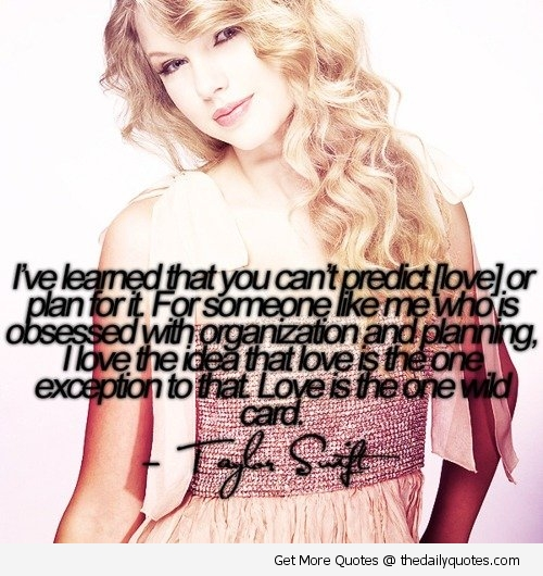 Taylor Swift The Daily Quotes On We Heart It