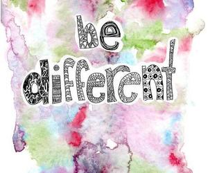 different, quote, and be different image