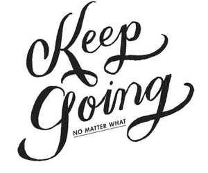 quotes, keep going, and inspiration image