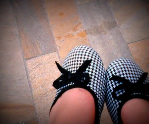 flats, pair, and houndstooth image