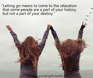 letting go, tumblr, and teen quotes image