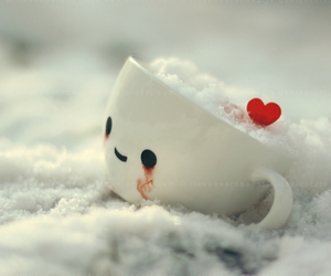 cup, cute, and heart image