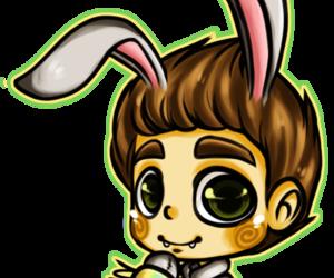ian somerhalder, rabbit, and hheehee image