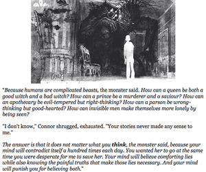quotes, patrick ness, and a monster calls image