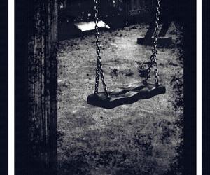 alone, dark, and depression image