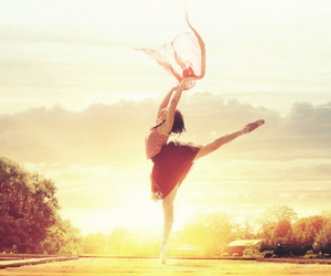 ballet, dance, and sun image