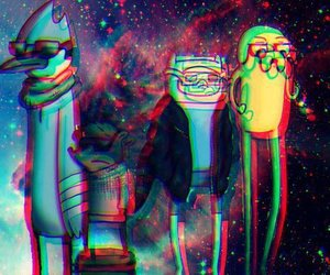 adventure time, regular show, and finn image