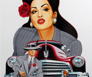 flower, red, and pachuco image