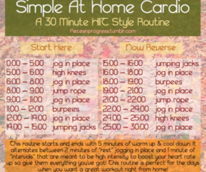 workout and cardio image