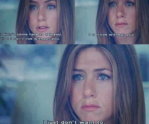 quote, jeniffer aniston, and love image