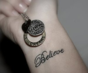 believe, tattoo, and Dream image