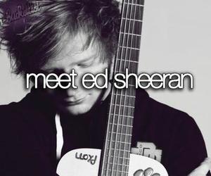 ed sheeran, meet, and ed image