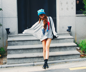 asian, cute, and korean fashion image