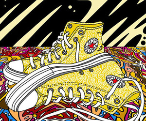 art and converse image