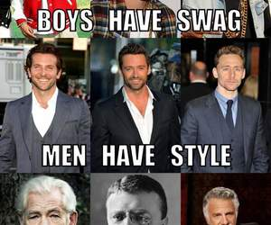 men, swag, and boy image