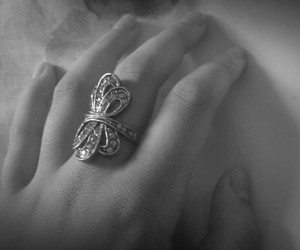 girly and ring image