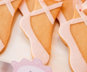 ballet, Cookies, and pink image