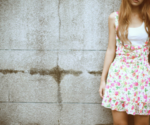 dress and girl image