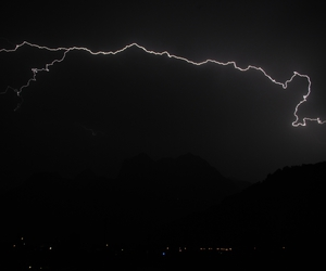 awesome, lightning, and dark image