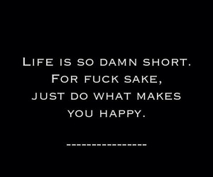 quote, life, and happy image