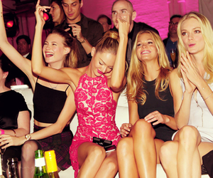 model, Victoria's Secret, and party image