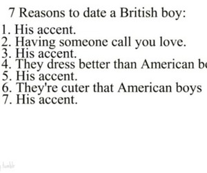 boy, british, and accent image