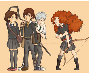 angry, dreamworks, and hermione image