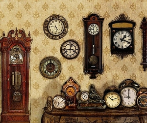 animation, clocks, and collectibles image
