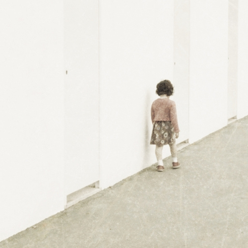 kid, wall, and white image