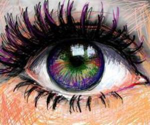 coll, draw, and eyes image