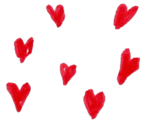 heart, png, and red image