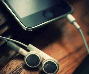 music, iphone, and ipod image