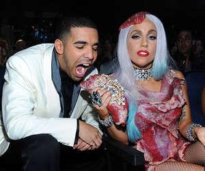 Lady gaga, Drake, and meat image