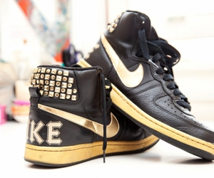nike, shoes, and studs image