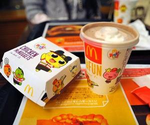 food, McDonalds, and kawaii image