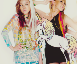 cute, 2ne1, and CL image