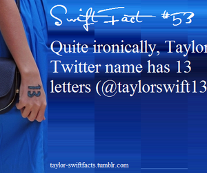 13, fact, and Taylor Swift image