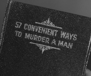book, kill, and murder image