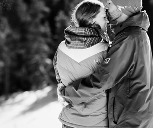couple, engagement, and happiness image