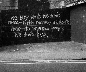quotes, money, and grunge image