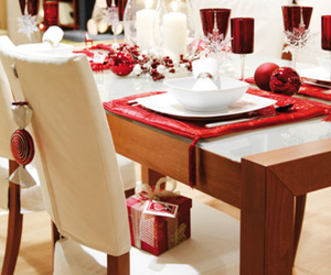 festive and table setting image