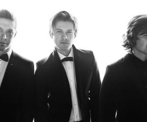 black and white and hanson image