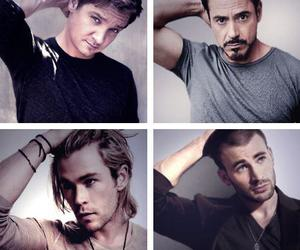 chris evans, Avengers, and chris hemsworth image