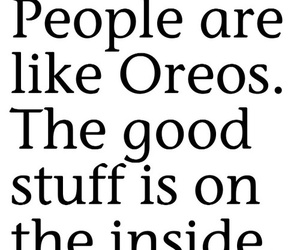 oreo, quote, and people image