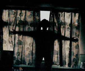 curtains, shadow, and Film Photography image
