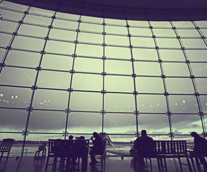 airport and Film Photography image