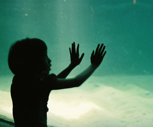 child, Film Photography, and silhouette image
