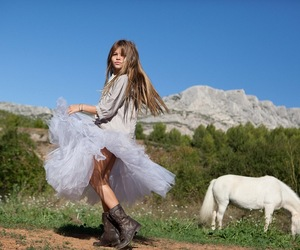 girl, thylane blondeau, and boots image