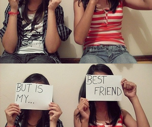 best friends, frinds, and cool image