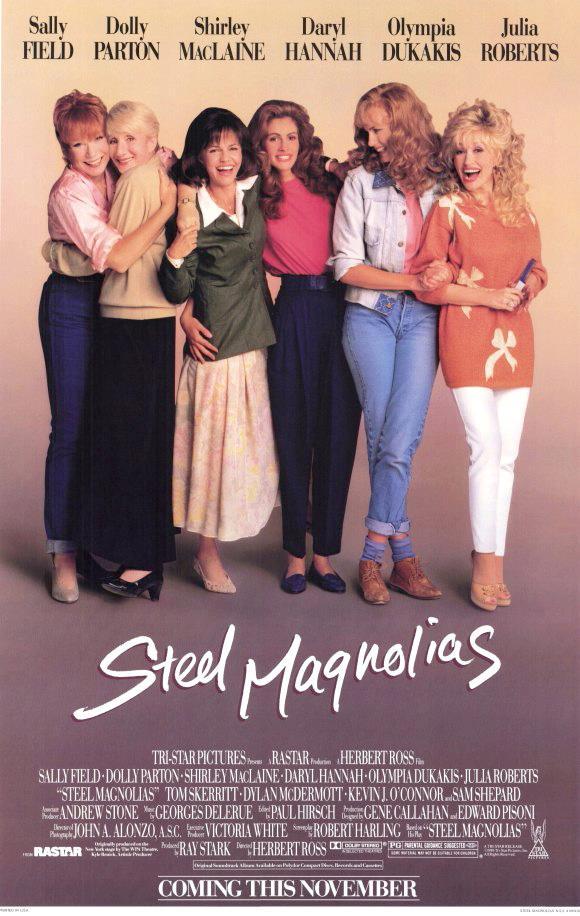 movie, movie poster, and steel magnolias image